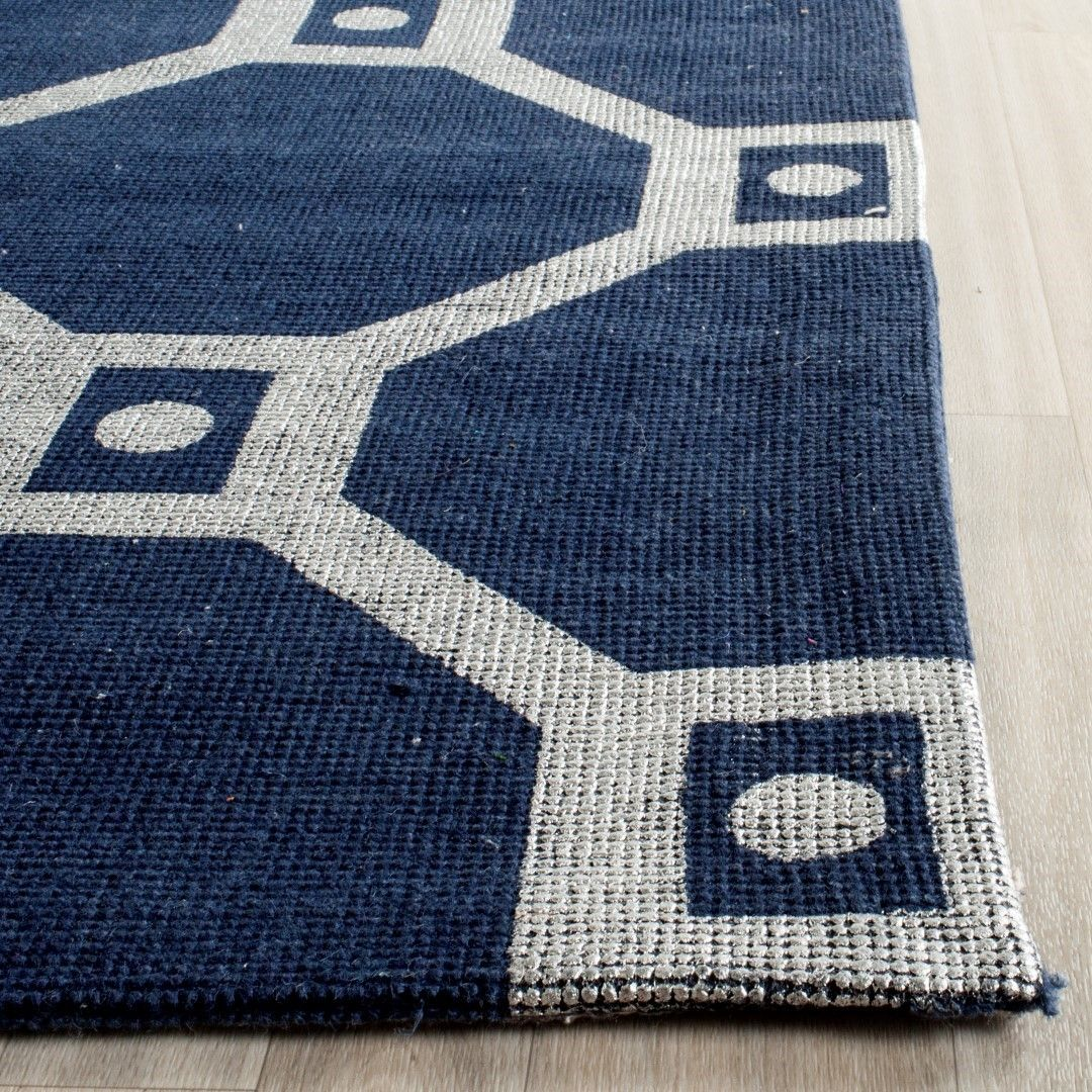 Cdr269m Rug Color Navy Silver Size 7 3 X 9 3 Navy Rug Rugs Colorful Rugs