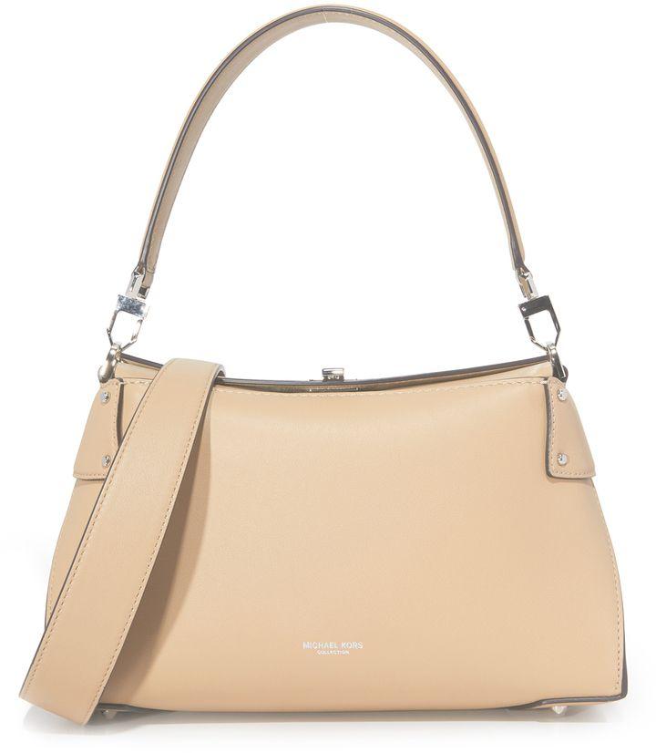 272d718317b4 Michael Kors Collection Miranda Top Lock Shoulder Bag  mk  michaelkors   watch  sale  shopping  fashion  trend  style  luxury  rich  jewelry  gold   summer ...