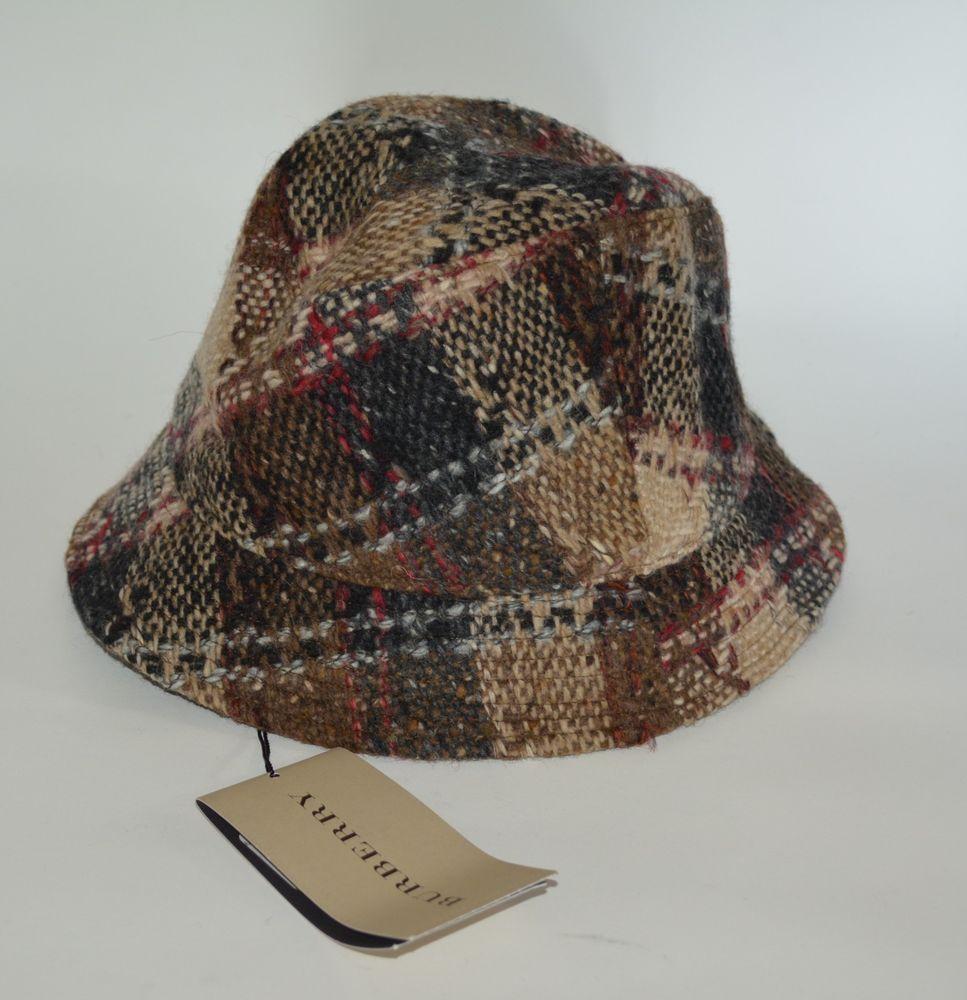 76d7772c9a8 NWT BURBERRY WOOL NOVA CHECK BUCKET HAT SZ MEDIUM  fashion  clothing  shoes   accessories  womensaccessories  hats (ebay link)