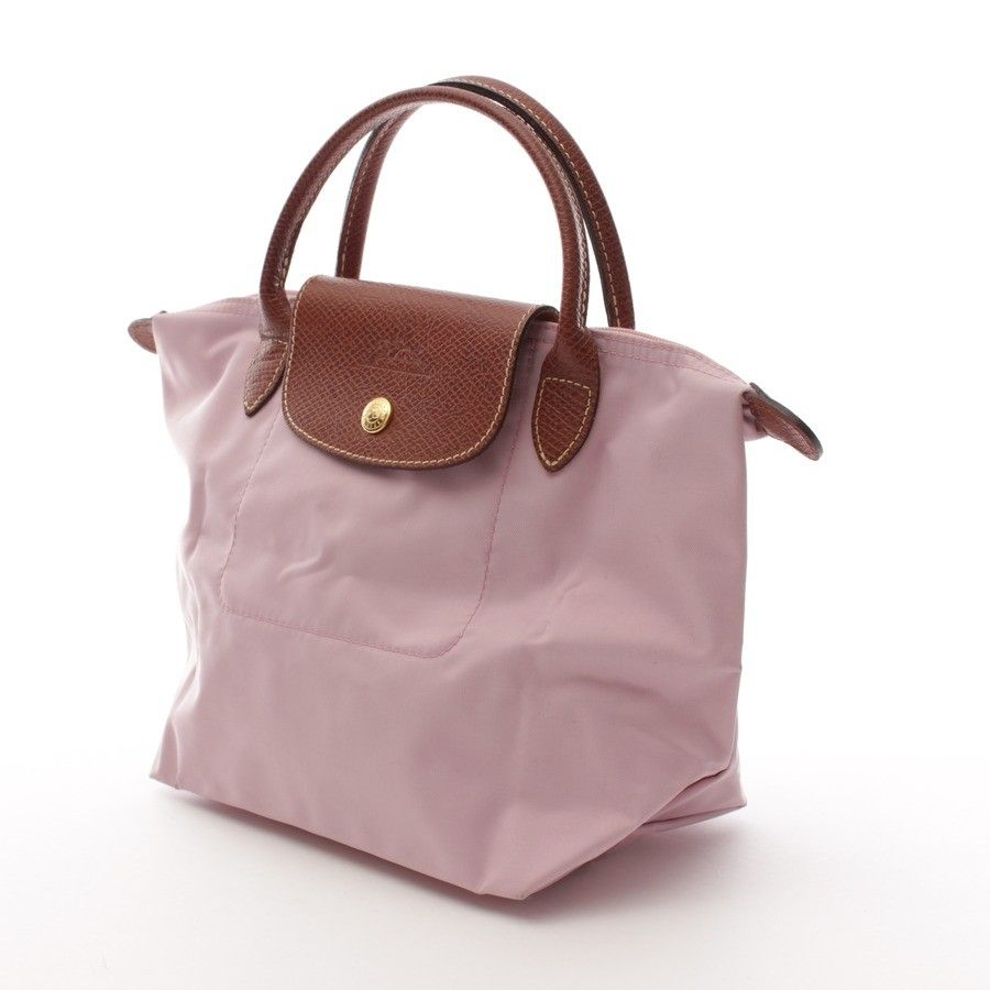 dde4a306f7f1d Klassische Handtasche von Longchamp in Rosa Gr. Small ...
