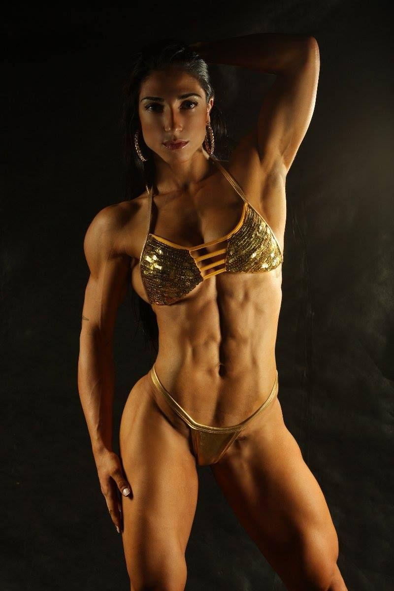 Topless wrestling czech female bodybuilder vs fitness model part porn images