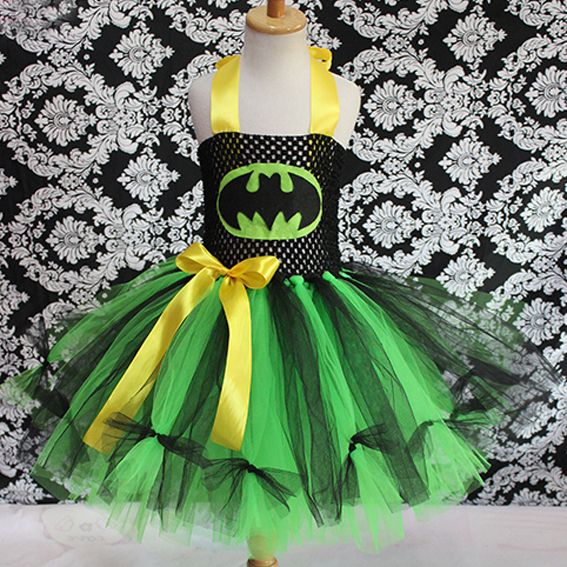 tutu fluffy halloween costume kids toddler tulle baby girl dress ...