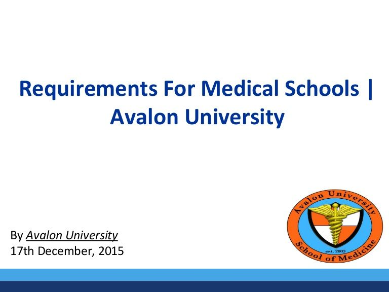 Requirements for medical school to get into are never easy We know