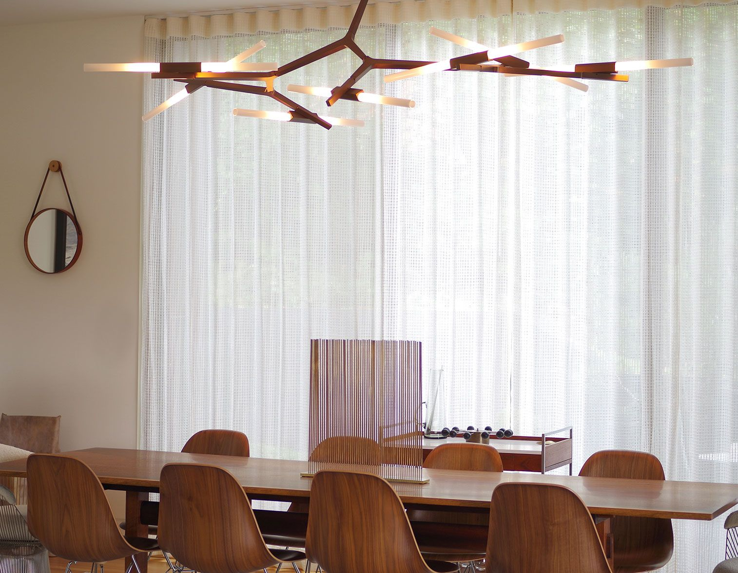 Agnes Chandelier with 14 bulbs in bronzeArchitecture by Skylab ...