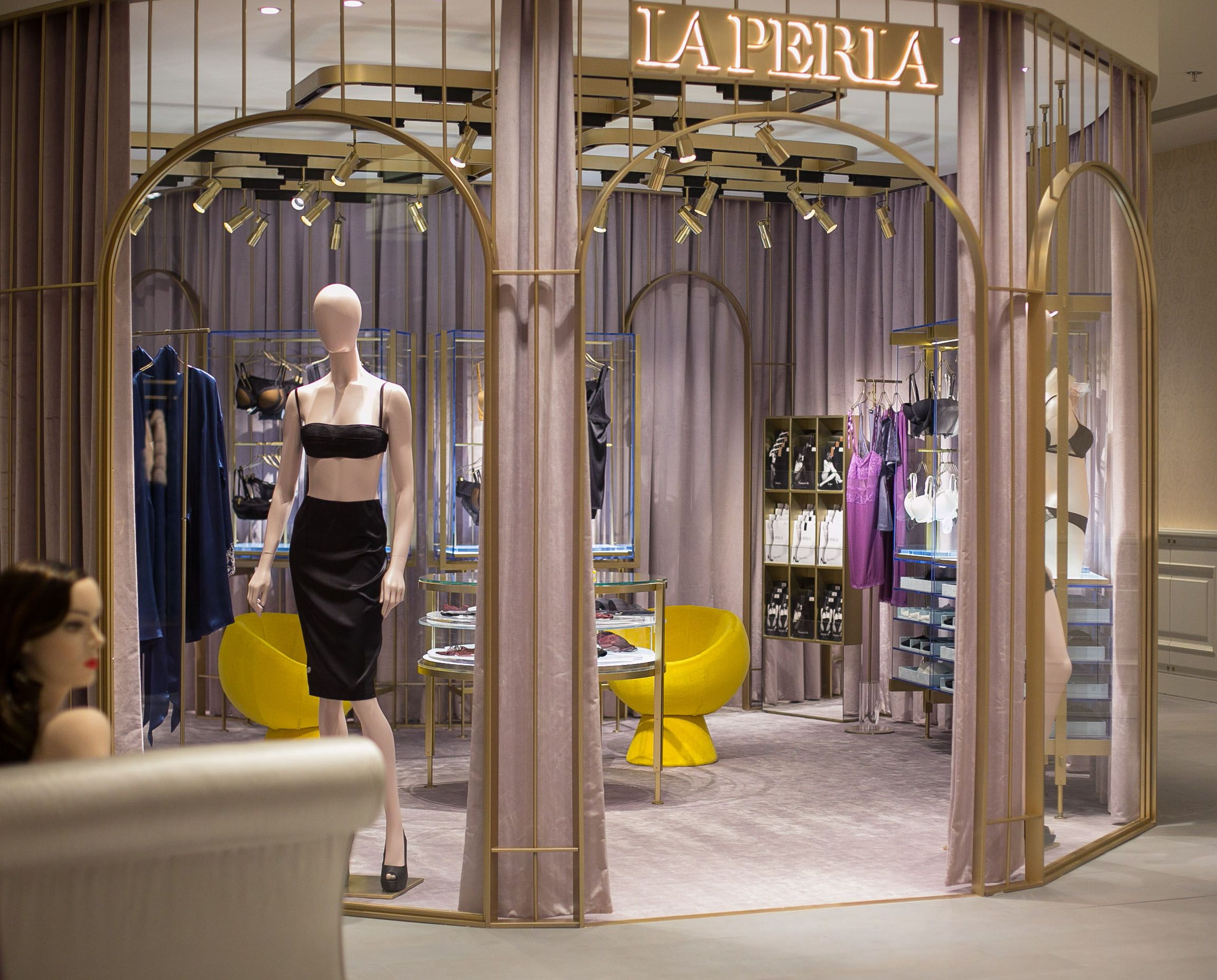 The New Concept La Perla Boutique In Emporium DeptStore Baku Azerbaijan