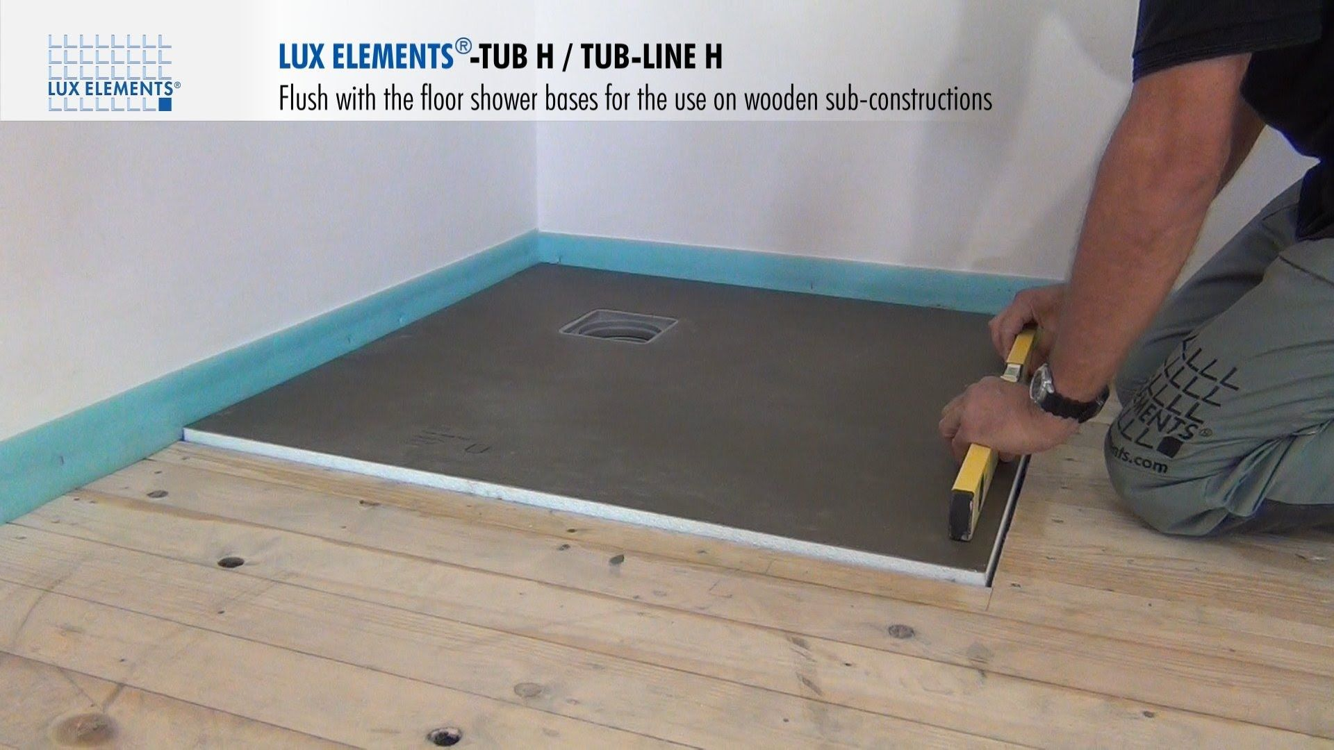 How To Make A Teak Shower Floor Flush With The Floor