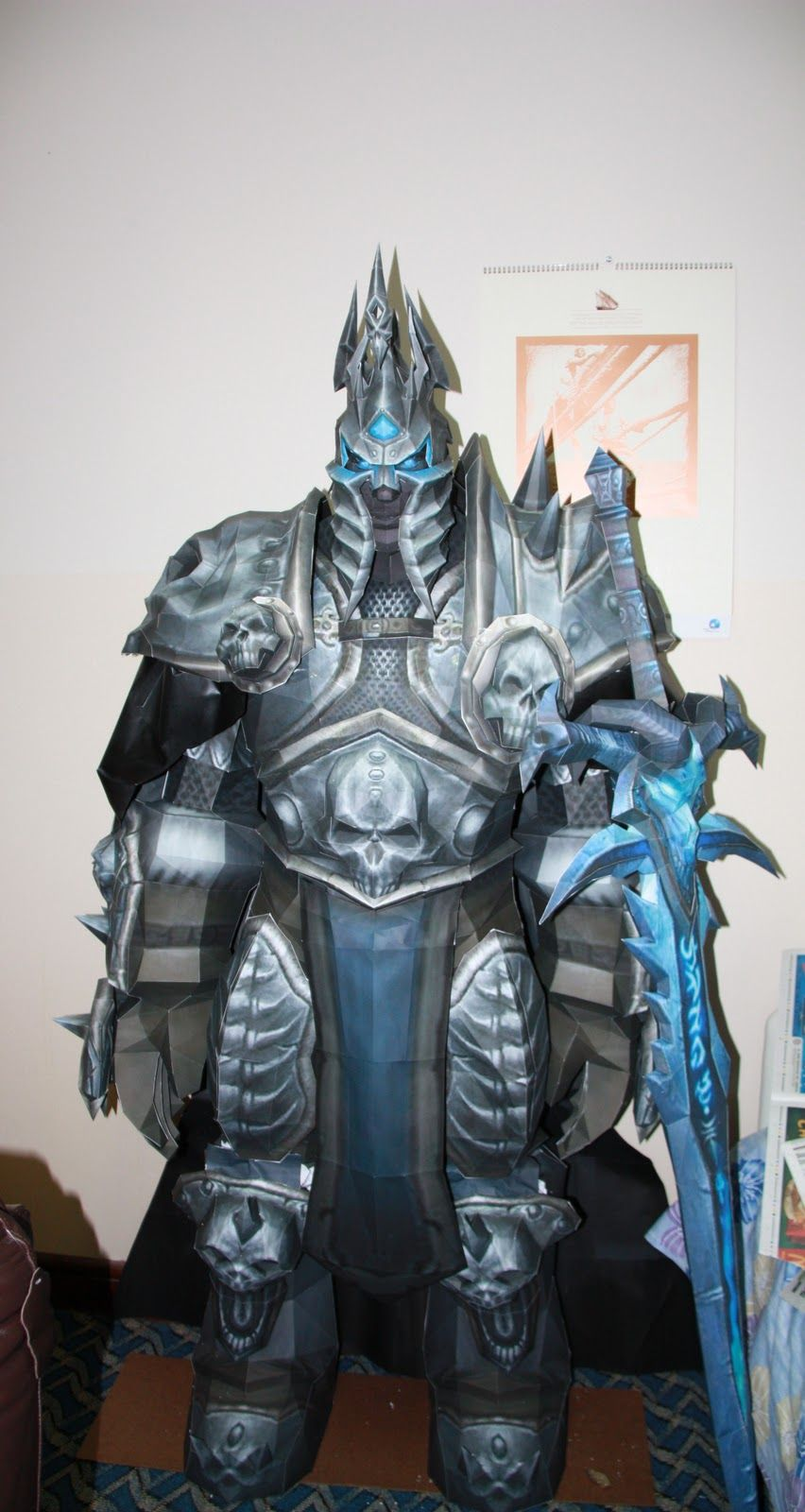 Vestiti Eleganti World Of Warcraft.Lich King World Of Warcraft Papercrafts
