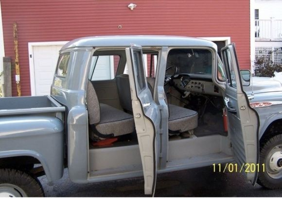Orrville Crew Cab 1957 Chevrolet Napco 4x4 Cool Old