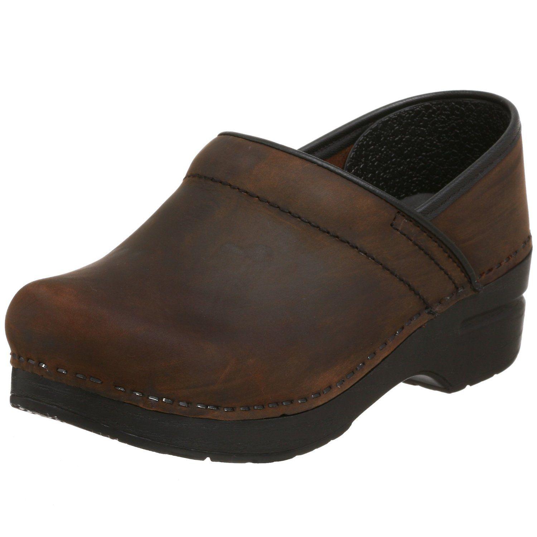 Dansko clog antiqued brown leather | Dansko's I want them ...