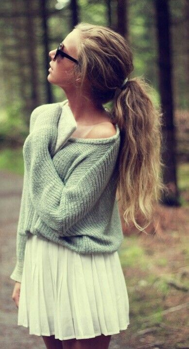 Cute Sweater Outfit! <3
