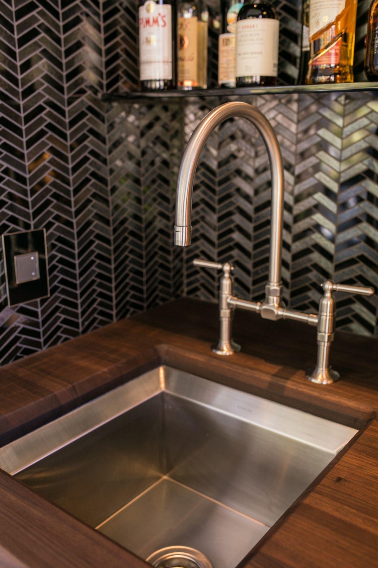 Kohler Bar Sink Dimensions With Undermouth Design Idea Stainless Steel Modern Design Kitchenfaucetdim Kitchen Faucet Elegant Kitchens House Beautiful Kitchens