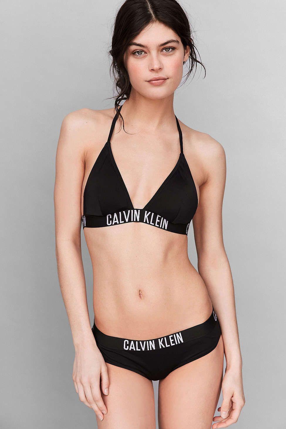 a6b1f3aa22c4b Calvin Klein Triangle Bikini Top
