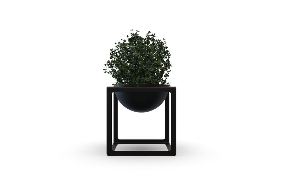 Metalowa Donica Na Kwiaty W Stylu Skandynawskim Doti Dabstory Planters Planter Pots Decor