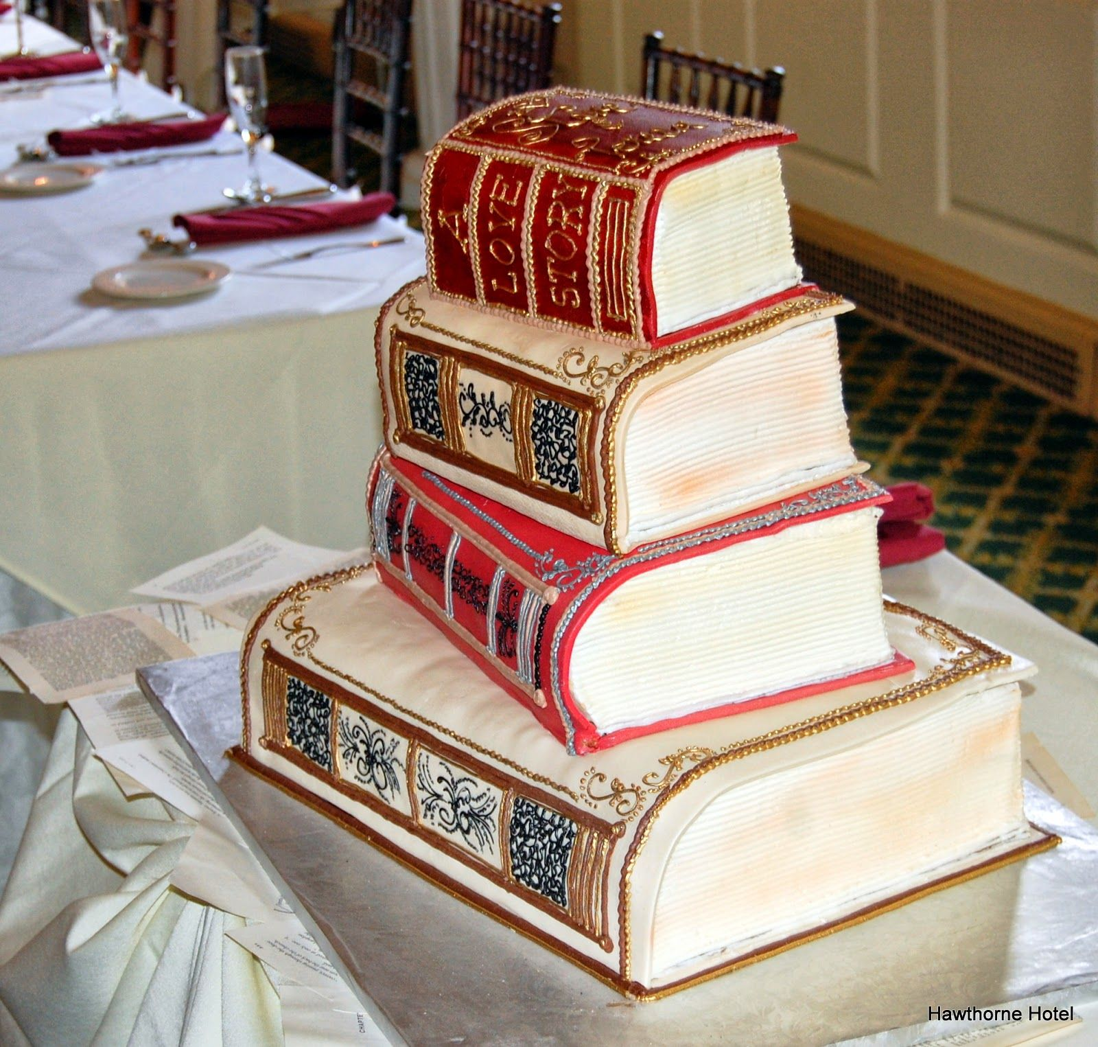 Weddings at the Hawthorne Hotel LiteraryBook Themed Wedding