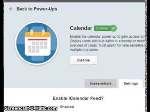 Connect Trello Calendar With Google Calendar Youtube Google