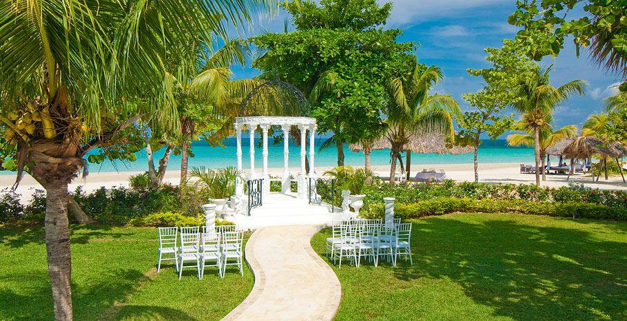 Beaches Negril Wedding Gazebo Redparrottravel Destinationwedding Weddingmoon Honeymoon