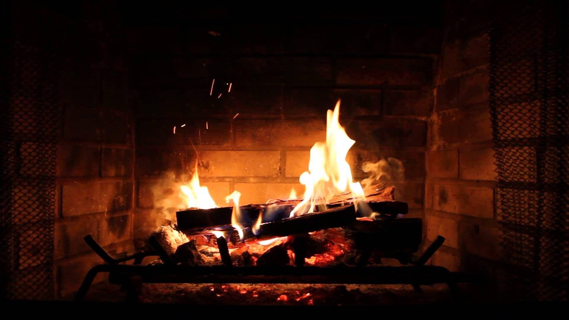 hd fireplace wallpaper Cozy fireplace, Desktop wallpaper