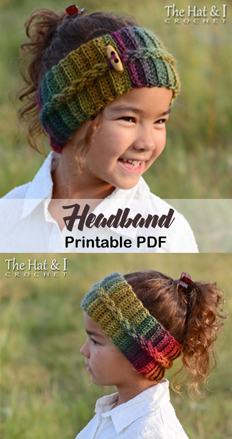Make a Cozy Headband #crochetclothes