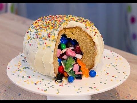 Le Pinata Cake ou gâteau surprise