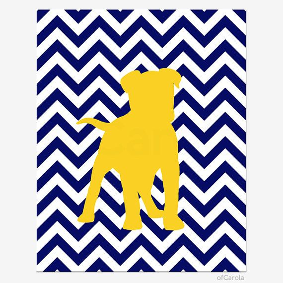 Custom Dog Puppy Nursery Wall Art Print, PERSONALIZED Baby Boys ...