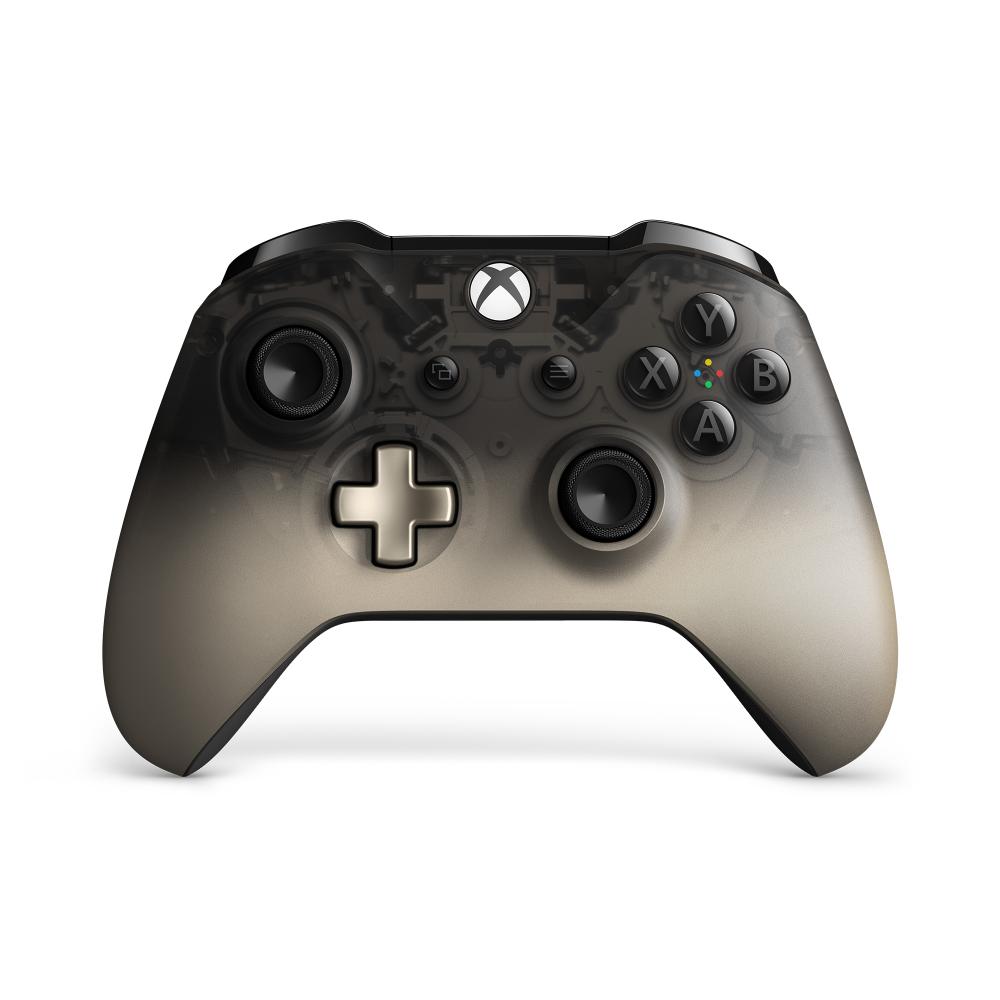 Microsoft Xbox One Wireless Controller Phantom Black Special Edition Wl3 00100 Walmart Com Xbox Wireless Controller Xbox One Controller Xbox Controller