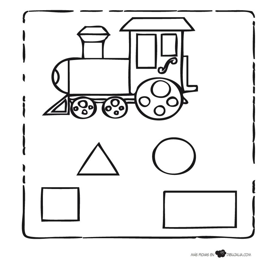 giochi e colori disegni da colorare le forme