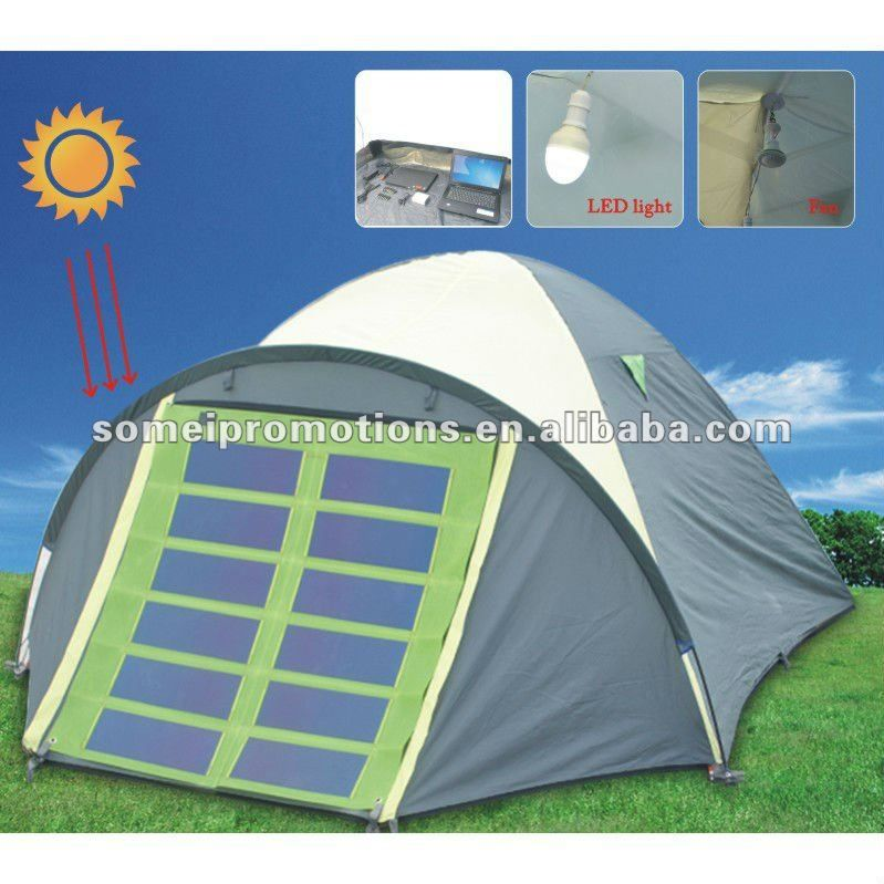 C&ing solar tent with light and fan & Camping solar tent with light and fan | camping | Pinterest ...