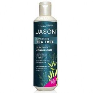 ACONDICIONADOR TE TREE 250ML JASON El acondicionador Tea Tree Jason es un producto suave, que nutre el cuero cabelludo aliviando la irritación y reduciendo la caspa, al tiempo que suaviza y acondiciona el cabello.