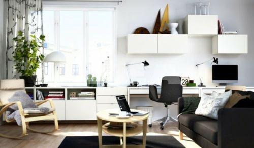wohnideen für Jugendzimmer weiß schwarz LIVINGINFO Pinterest - wohnideen kleine wohnzimmer