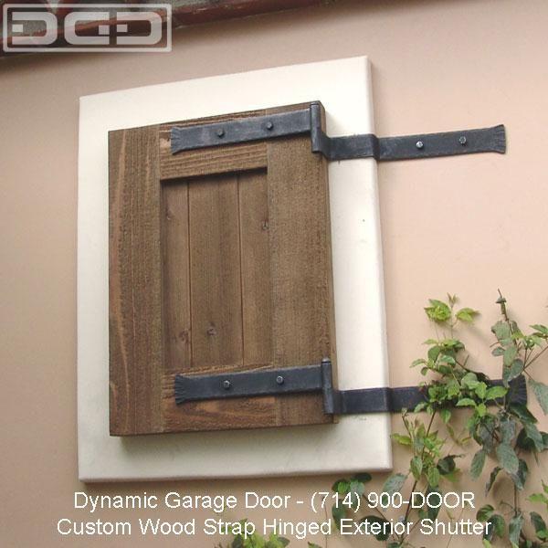 Functional Exterior Window Shutters Iron Hinge Strap Exterior Window Shutte