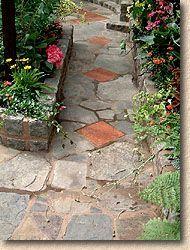 Crazy Paved Garden Path
