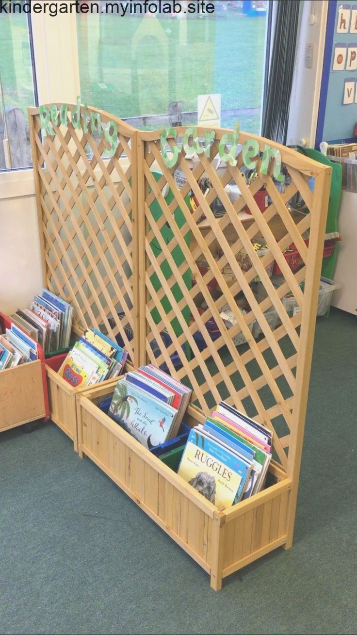 Reading Garden Book Storage #kitaräume