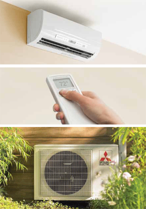These attributes make minisplit A/C systems perfect for