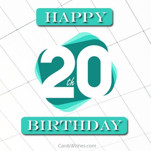 Happy 20th Birthday Buddy