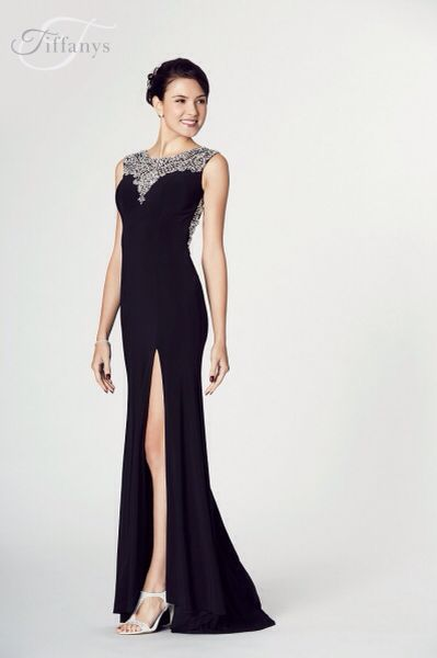 Leah By Tiffany Prom Black Prom Dress Available At Bridal Oasis