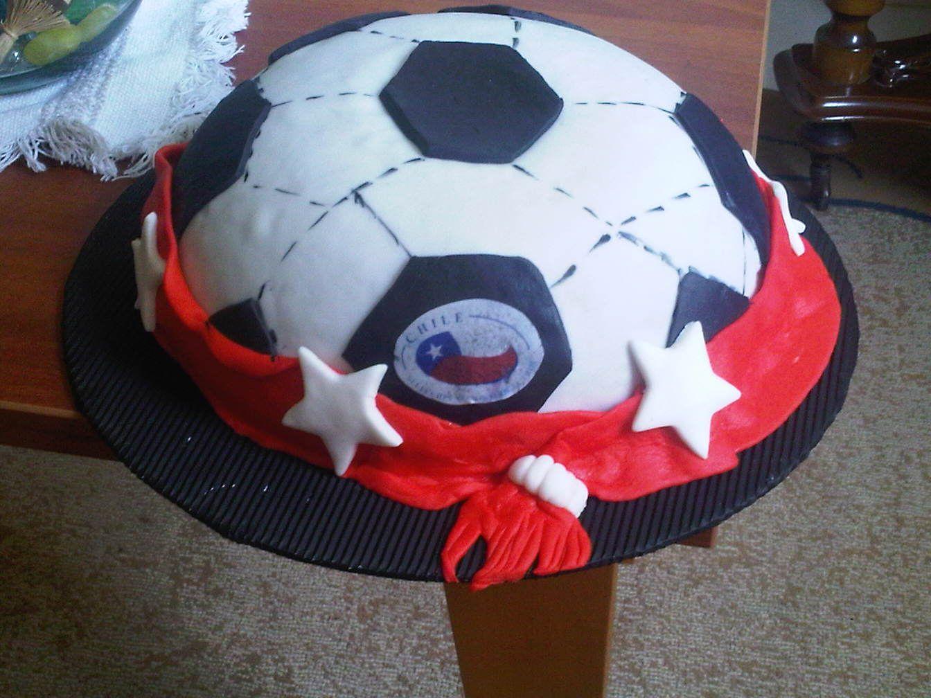 Torta de Pelota de futbol