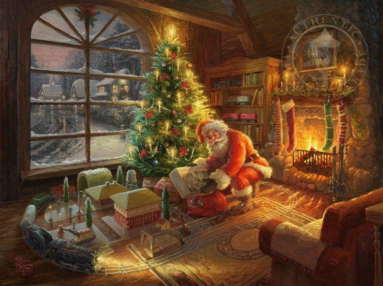 Santa's Special Delivery | Thomas Kinkade Studios