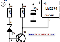 2N3055 Variable DC Power Supply circuit and explanation