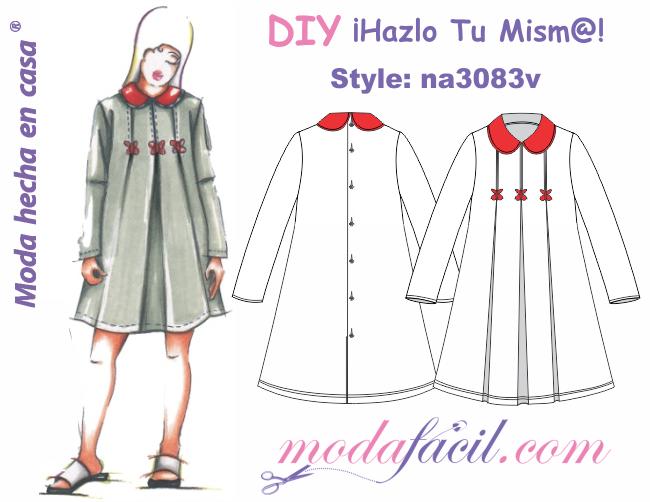 Descarga gratis los Moldes de vestido de niñas y jovencitas ...