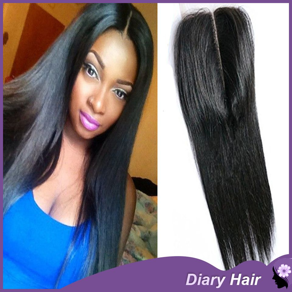 Where to buy hair closures - Find More Lace Closure Information About Dhl 6a Top Peruvian Straight Virgin Hair Lace Closure 5