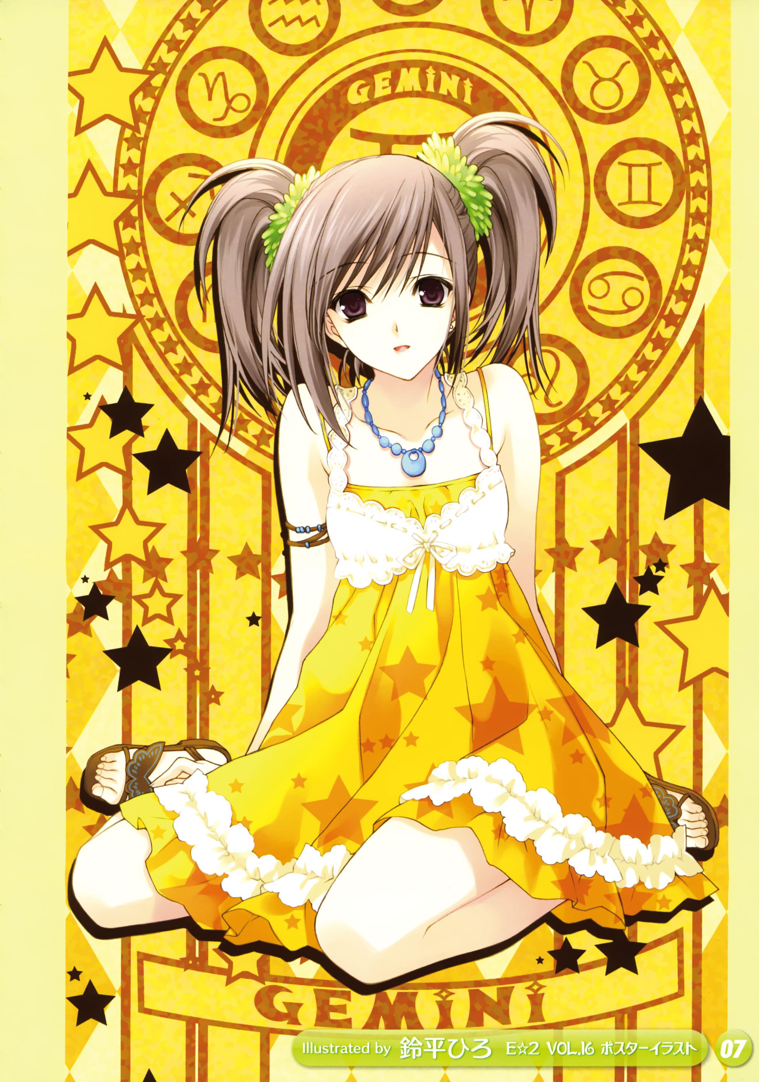 Girls Girls 6 Gemini Summer Dress Yellow Outfit Yellow Dress Summer Gambar