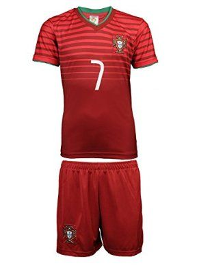 euro2016 portugal 7 ronaldo home soccer kids jersey shorts 2014 the world cup aaa version argentina