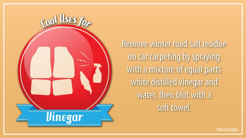 how to clean salt cell with vinegar
