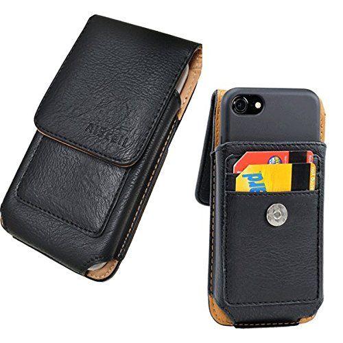best loved 72aeb 5bb4a Iphone 8 Plus, 7 Plus, 6S/6 Plus~Roomy Premium Vertical Black ...