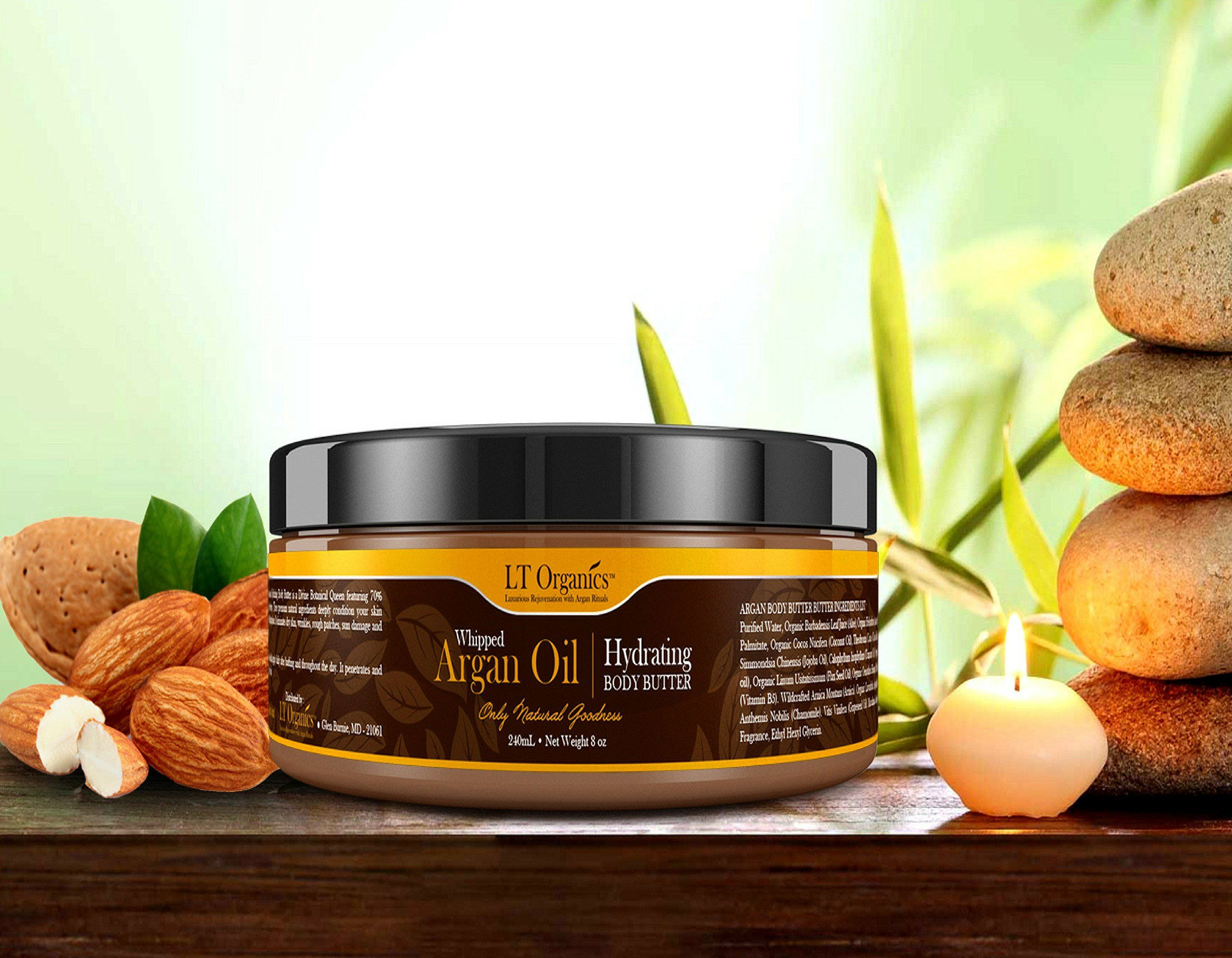 Natural Whipped Argan Oil Body Butter Paraben Free Moisturizer For Dry Skin Psoria Whipped Argan Oil Body Butter Moisturizer For Dry Skin Paraben Free Products