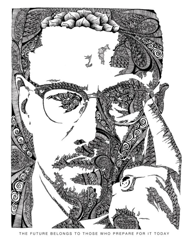 Illustrations by Freddie Denton, via Behance: Illustration of ...