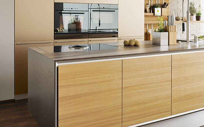 Vao kitchen It combines simple, elegant forms with the authentic