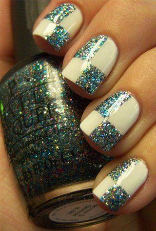 Checkered Glitter!