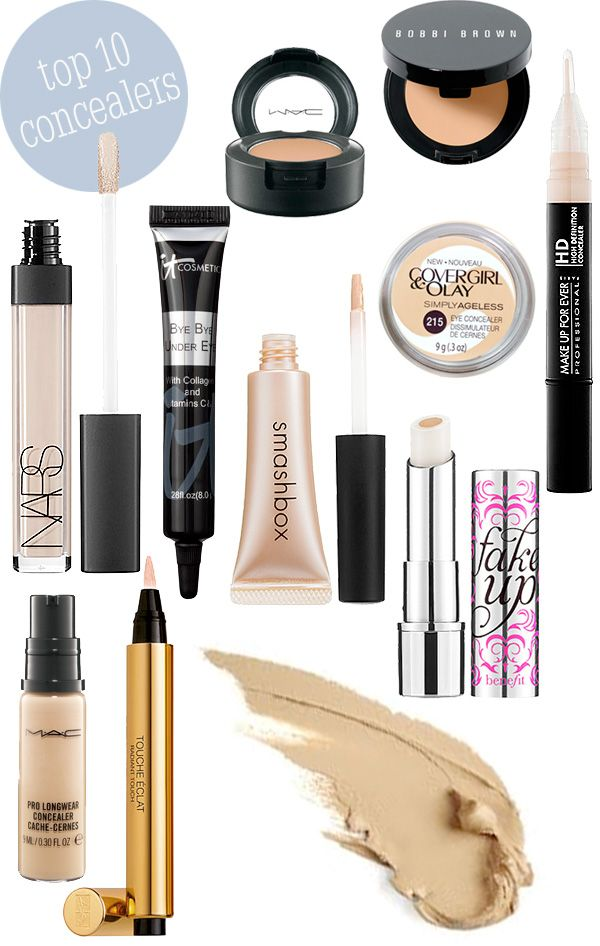 Top 10 Concealers Beautiful Makeup Search Beautiful Makeup Skin Makeup Top 10 Concealers