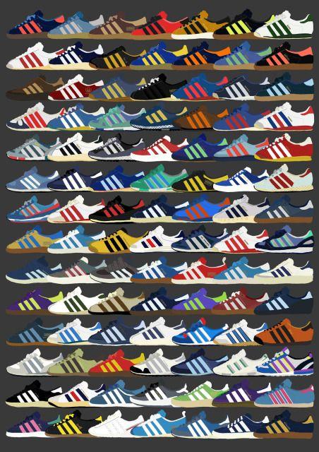adidas original trainers list